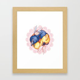 Kero and Spinel Framed Art Print