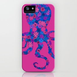 Octo Bloom iPhone Case