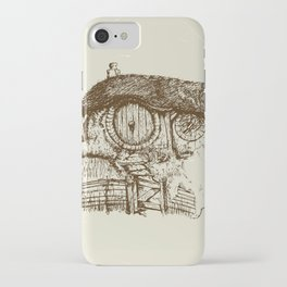 Hobbit house ink iPhone Case