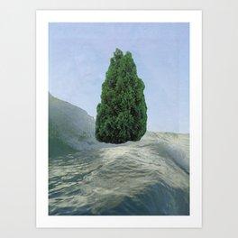 Pinesong Art Print