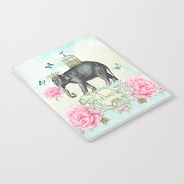 Paris Elephant Notebook