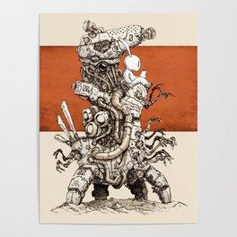 Iron Pentahunter O-005 Poster