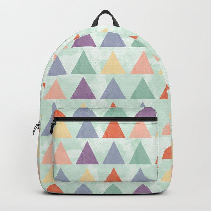 Lovely geometric Pattern Backpack