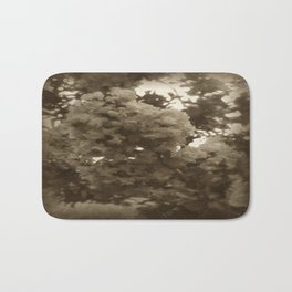 Crape Myrtle Antiqued Bath Mat