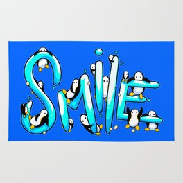 Smile Penguin Rug