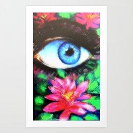 Title: 3rd Eye of Wisdom Art Print
