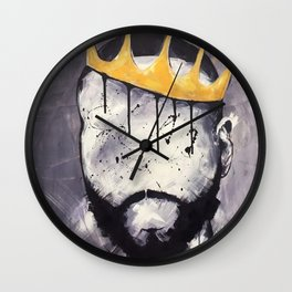 Naturally King Wall Clock