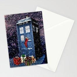 Tardis Christmas Stationery Cards