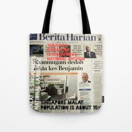 CAN YOU READ MALAY? Tote Bag