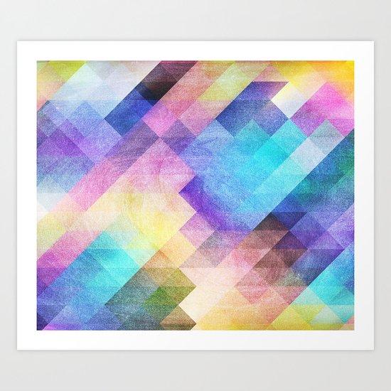Pattern 10 Art Print