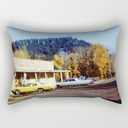 Souvenir Stand Rectangular Pillow