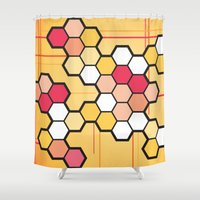 community Shower Curtains featuring Community by Barb Sotiropoulos