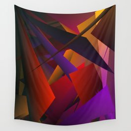 Smoke Screen Abstract 3 Wall Tapestry