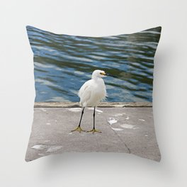 Weekend Willy Throw Pillow