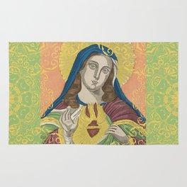 Virgin Mary Rug