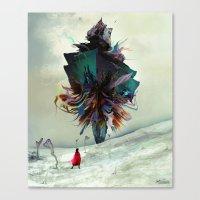 archan nair Canvas Prints featuring Soh:adoe by Archan Nair