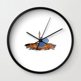 I Like This Ending Wall Clock