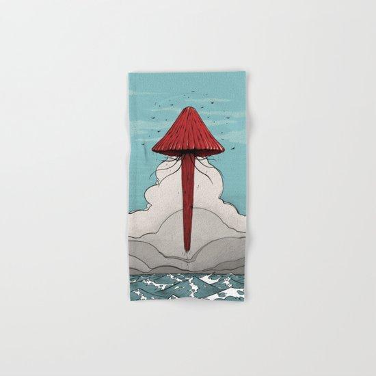 Méduse volante #5 Hand & Bath Towel