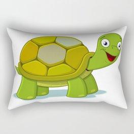 Cartoon Turtle Rectangular Pillow