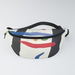 Classico joan miro the librairy of congress Fanny Pack