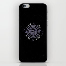 Three Turns iPhone Skin