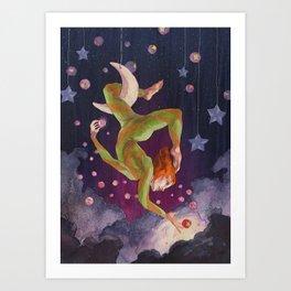 Aerial Dream Art Print