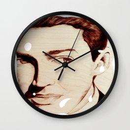"James ""Jimmy"" Stewart Wall Clock"