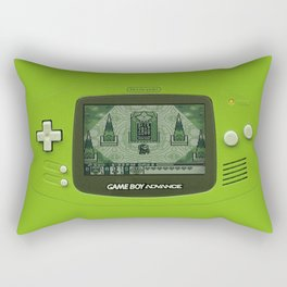 Gameboy Zelda Link Rectangular Pillow