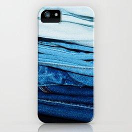 Denim iPhone Case