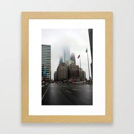 City of Brotherly Love Framed Art Print