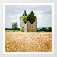 Irish Ruin Art Print