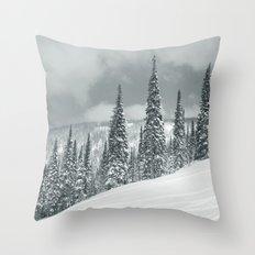 Winter 8 Throw Pillow