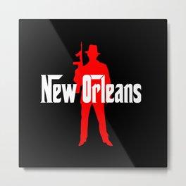 New Orleans mafia Metal Print