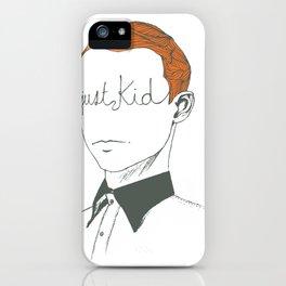 JUST KID iPhone Case