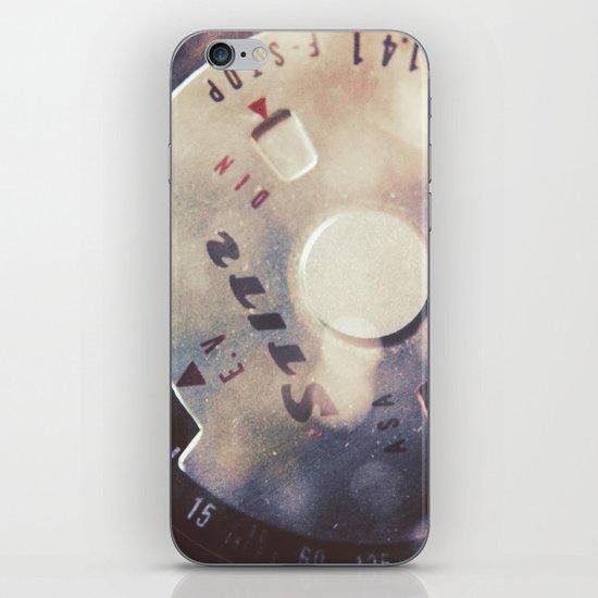 Vintage Stitz Light Meter Diptych iPhone & iPod Skin