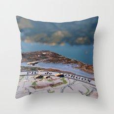 Pic de Morgon Throw Pillow
