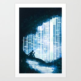 Blue Spruce Art Print