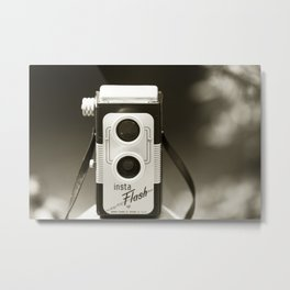 There was only me and my camera ... Metal Print