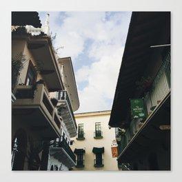 Architecture of Casco Viejo Canvas Print