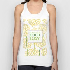 Today was a good day Unisex Tank Top