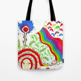 Tainã, King of the Dream Castle Tote Bag