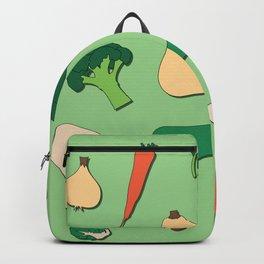 Simple Vegies Green Backpack