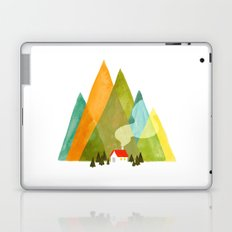House at the foot of the mountains Laptop & iPad Skin