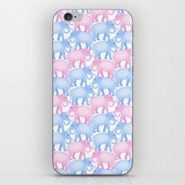 Elephant Herd iPhone Skin