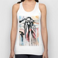 scott pilgrim Tank Tops featuring The Pilgrim by KHCollaboration