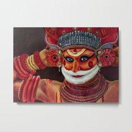 Incarnations of God- Theyyam Metal Print