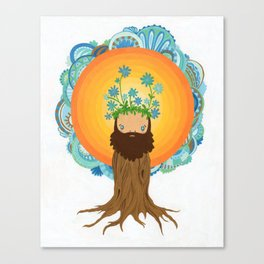 Tree Creature.  Canvas Print