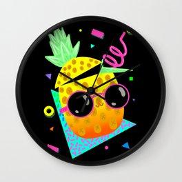 Piña Coolada Wall Clock