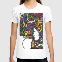 techno T-shirts featuring Rainbow Techno by Madison R. Leavelle