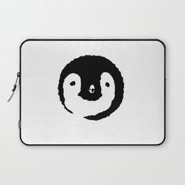 Baby Penguin Face Laptop Sleeve
